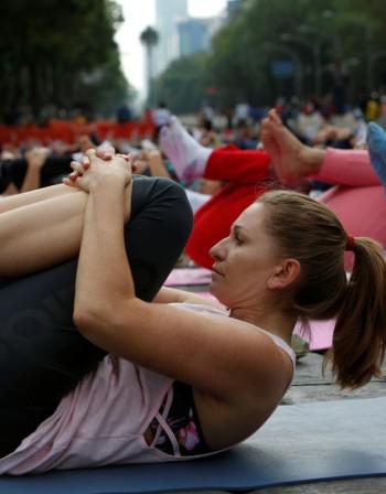 Йогата слага край на менструалните болки