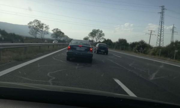 "Бабаит: Полицай засича коли на ""Тракия"", заплашва с пистолет!"