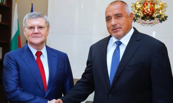 Борисов обсъди борбата с терора с руския прокурор Чайка