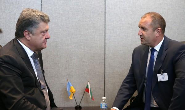 Радев към Порошенко: Българите в Украйна да учат български!