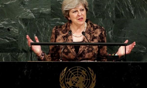 Тереза Мей пред ООН: Твърди с тероризма, твърди с КНДР!