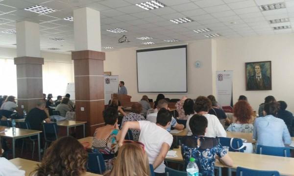 ВУЗФ обучава над 150 учители от цялата страна