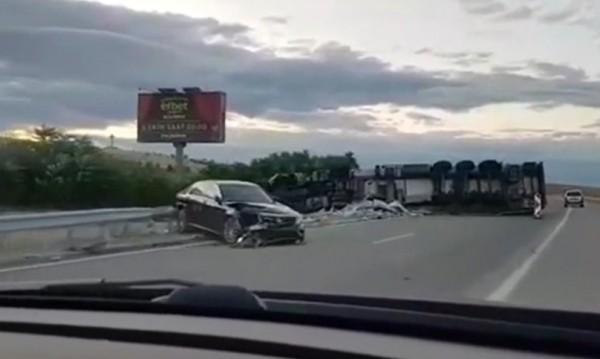 "Тежка катастрофа почти затвори магистрала ""Марица"""