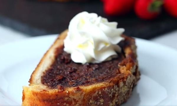 Рецептата Dnes: Френски хляб с шоколад
