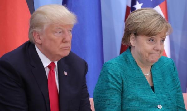 Тръмп още не се е обадил да поздрави Меркел за победата й