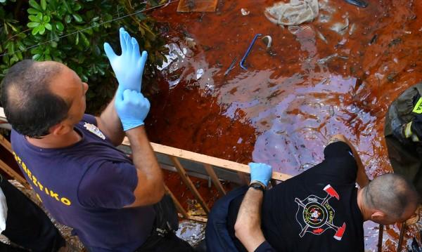Проливни дъждове наводниха гръцкия остров Самотраки
