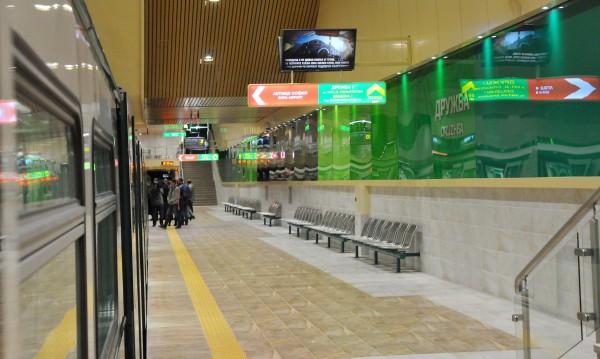 Пуснаха метрото, което спря заради технически проблем