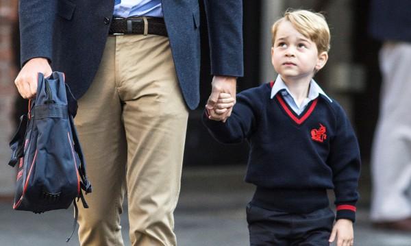Кралски неволи: Принц Джордж не ще на училище