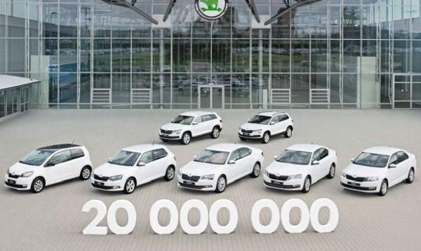 Skoda мина границата от 20 млн. произведени коли
