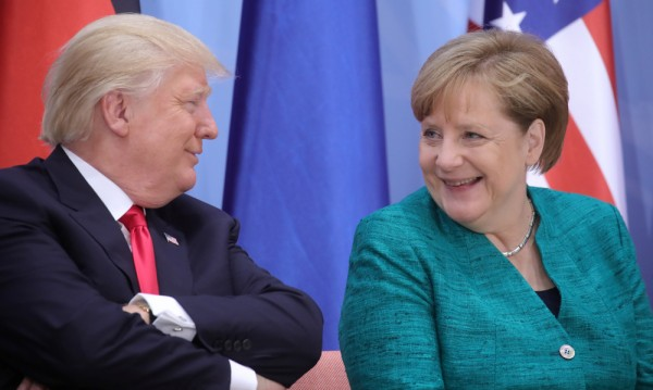 Тръмп накрая поздрави Меркел за изборната победа