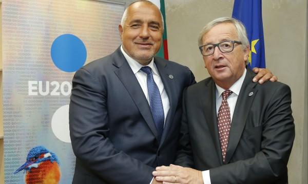 Борисов: Разчитаме на подкрепата на ЕК за еврошеството ни!