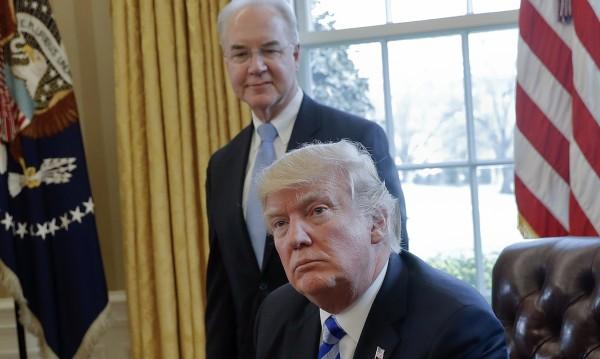 Министърът на здравеопазването в САЩ хвърли оставка