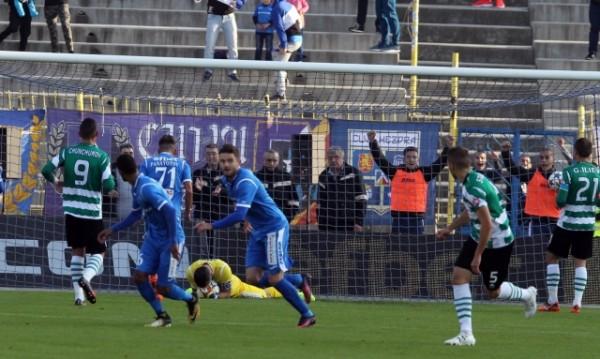 Левски успя да излъже с 1:0 Черно море