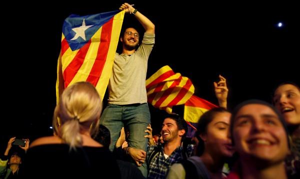 Обща стачка срещу полицейското насилие в Каталуния