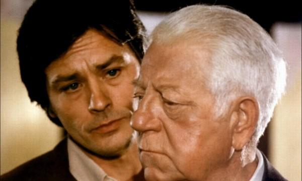 "Ален Делон до Жан Габен в ""Двама мъже в града"""