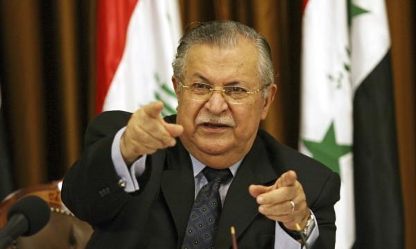 Почина кюрдският лидер Джалал Талабани