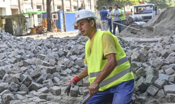 """Паветата по """"Дондуков"""" – до 20% по-скъпи от асфалта"""