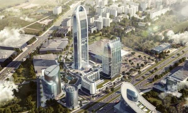 Небостъргачите в София – само в 3 зони
