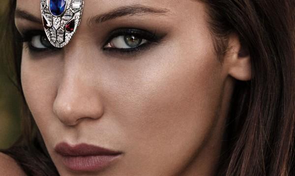 Бела Хадид, Венеция: На корицата на модно списание