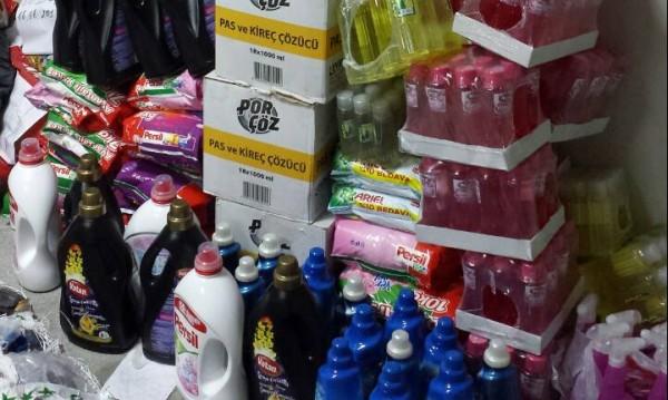 Митничари хванаха над половин тон перилни препарати на Лесово