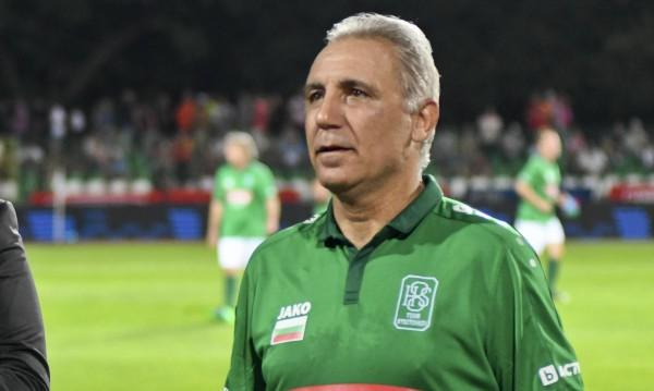 Заради Испания: Стоичков се видя с червен картон от България