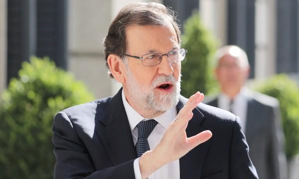 Рахой играе твърдо със сепаратисткия порив на Каталуния