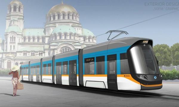 Обновление: София заделя 46 млн. лева за 13 нови трамвая