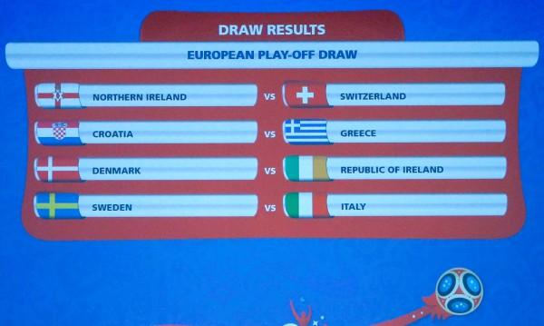 Италия се натресе на Швеция в битка за Мондиал 2018