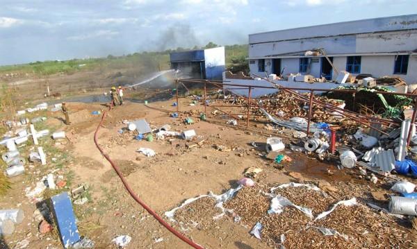 Взрив във фабрика за фойерверки в Индия взе 8 жертви