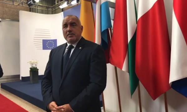 Борисов от Брюксел: Аз съм един от моторите за обща европейска отбрана