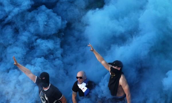 42-ма фенове са задържани преди мача Левски-ЦСКА