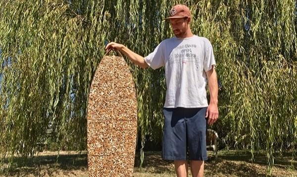 С грижа за околната среда – янки със сърф от фасове