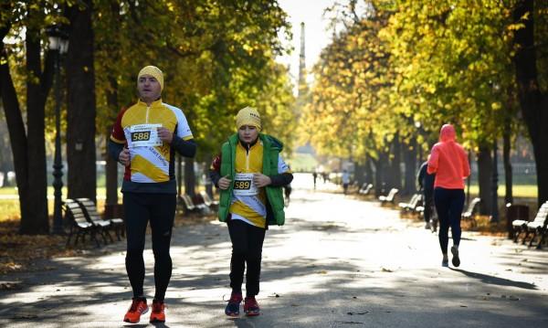 Рекорд: Над 700 души тичат в Борисовата градина
