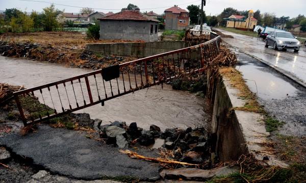 След наводнението: Над 4 млн. лв. са щетите в Бургаско