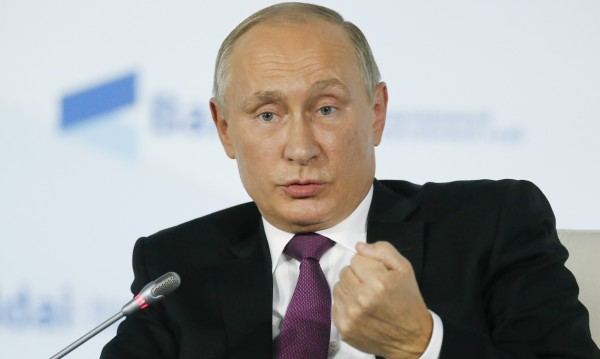 Владимир Путин изстреля четири балистични ракети
