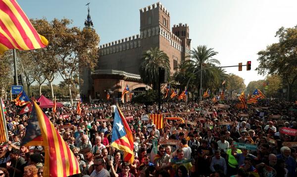 Случи се! Независимостта – в каталунския парламент