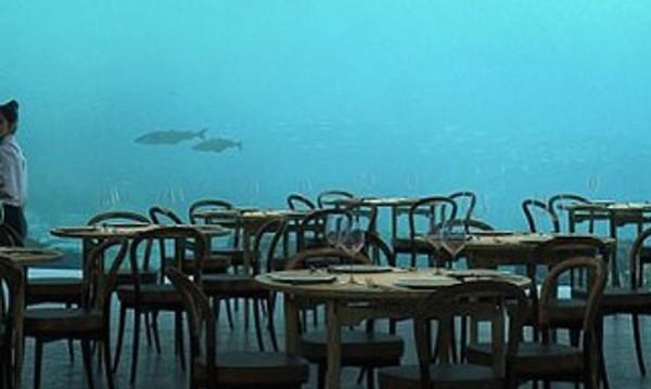 Гурме в море! Подводен ресторант привлича в Норвегия