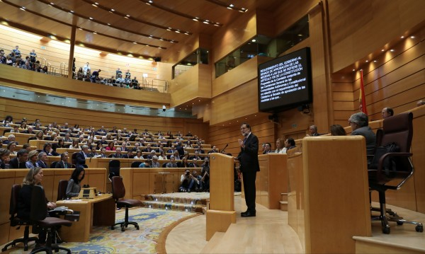 Испанският Сенат одобри прякото управление на Каталуния