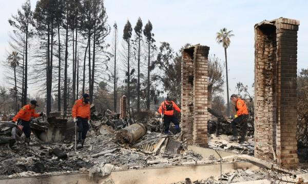 Калифорния ще се възстановява с години  от пожарите