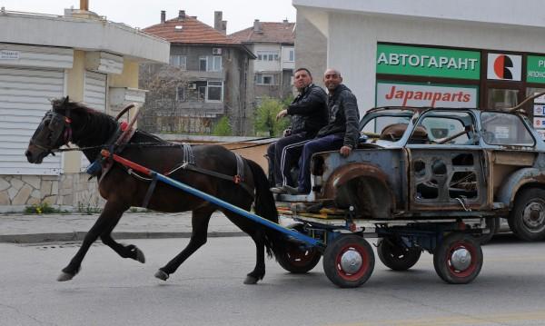 С кон и каруца и 25% от боклука на София е сепариран