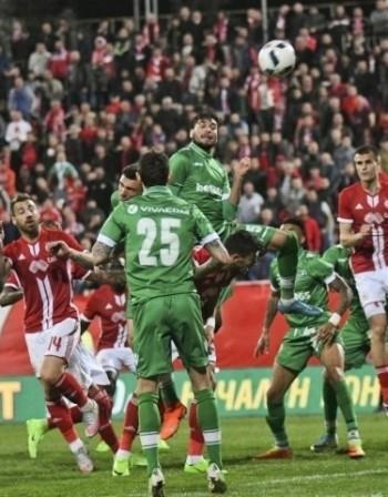 ЦСКА се натресе на Лудогорец за Купата на България