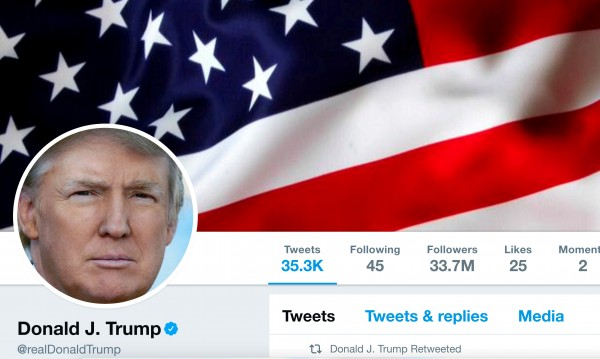 Twitter с мерки след като свали акаунта Тръмп за 11 минути