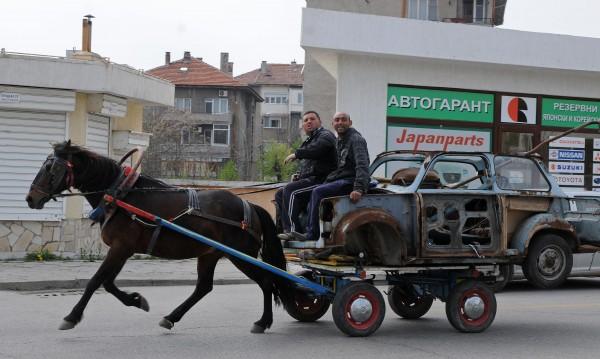 Веганите се загрижиха и за конете, неетично било да теглят каруци
