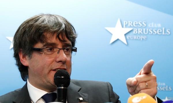 Пучдемон се предаде на белгийската полиция