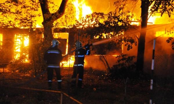 Щети за милиони причини пожарът в месокомбината в Търново