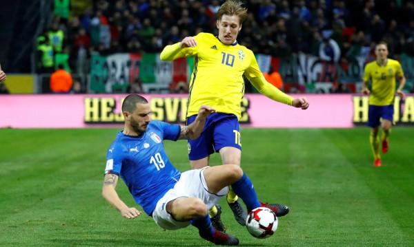 """Швеция излъга Италия, """"адзурите"""" на прага на голям провал"""