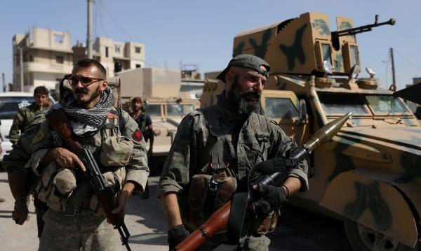 """""""Ислямска държава"""" си върна  контрола върху Букамал"""