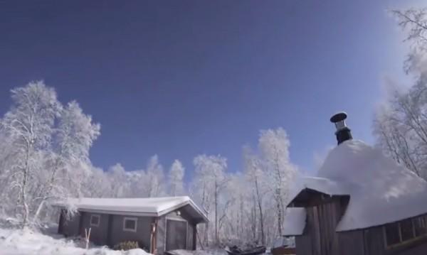 Над Лапландия: Метеор превърна нощта в ден!