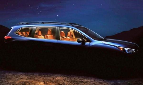 Subaru представи кросоувъра си със 7 места