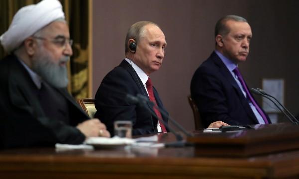 Съдбата на Сирия и Асад в ръцете на Путин, Ердоган и Рохани
